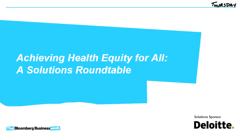 Achieving Health Equity for All